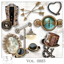Vol. 0885 Steampunk Mix by D's Design