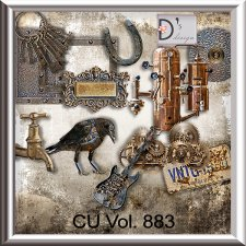 Vol. 883 Steampunk Mix by Doudou Design