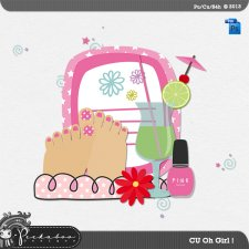 Oh Girl Layered Template by Peek a Boo Designs