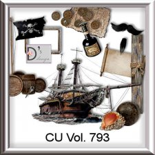Vol. 793 to 796 Pirate Ocean by Doudou Design