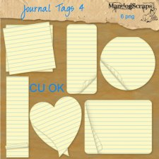 Journal Tags 4 by Mandog Scraps