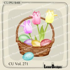 CU Vol 271 Easter Elements Pack 10 by Lemur Designs