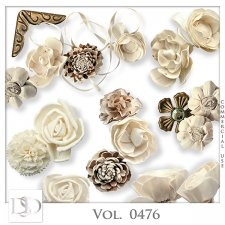 Vol. 0476 to 0480 Floral Mix by D's Design
