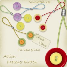 Action - Fasteners Button by Rose.li