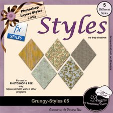 Grungy STYLES 05 by Boop Designs