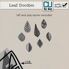 Leaf Doodles - CUbyDay EXCLUSIVE