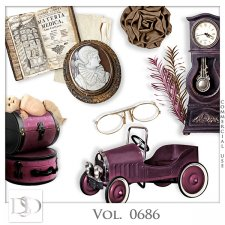 Vol. 0686 Vintage Mix by D's Design