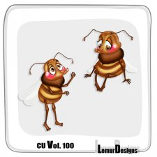 CU Vol 100 Bees by Lemur Designs