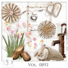 Vol. 0892 Spring Nature Mix by D's Design