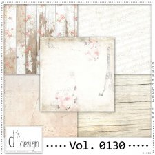 Vol. 0130 Vintage papers by Doudou Design