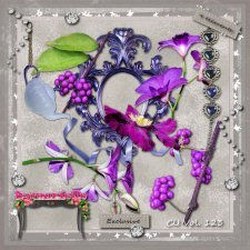 Vol 123 Spring Purple EXCLUSIVE bymurielle