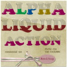 Action - Alpha Liquid Style by Rose.li