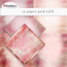 Papers Vol 8 Pink by Strawberry Designs