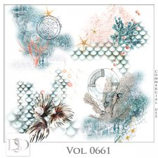 Vol. 0661 Sea/Summer Accents by D's Design