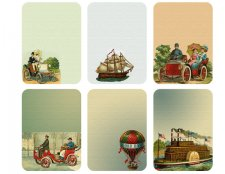 Vintage Travel Tags-Cards by Mandog Scraps