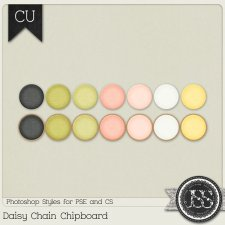 Daisy Chain Chipboard PS Styles by Just So Scrappy
