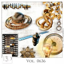 Vol. 0636 Steampunk Mix by D's Design