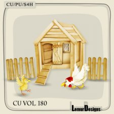 CU Vol 180 Hen House Spring by Lemur Designs