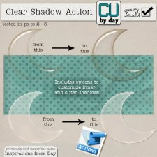 Clear Shadow Action - CUbyDay EXCLUSIVE