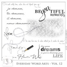 Everyday Word Arts Vol 12 by D's Design