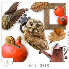 Vol. 0518 Autumn Nature Mix by D's Design