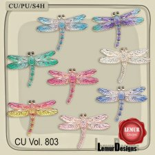 CU Vol 803 Dragonfly by Lemur Designs