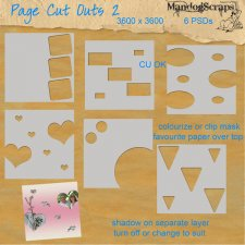 Page Cut Outs 2 by Mandog Scraps