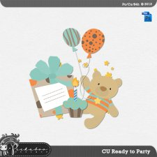 Ready to Party Layered Template by Peek a Boo Designs