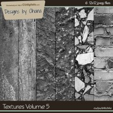 Paper Textures Vol 5 - EXCLUSIVE Designs by Ohana