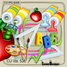 CU Vol 536 School Stuff by Lemur Designs
