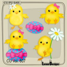 CU Vol 607 Chicks by Lemur Designs