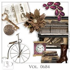 Vol. 0683 to 0687 Vintage Mix by D's Design
