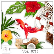 Vol. 0715 Tropical Sea Mix by D's Design