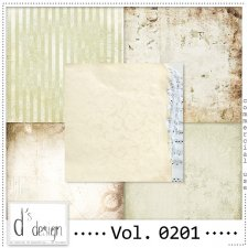 Vol. 0201 Vintage Papers by Doudou Design