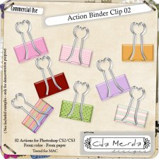 Binder Clip 02 Action by Cida Merola