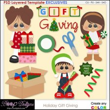 Holiday Gift Giving - EXCLUSIVE TEMPLATES