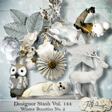 Designer Stash Vol 144 - Winter Beauties No 2 by Feli Designs