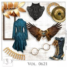 Vol. 0620 to 0624 Steampunk Mix by D's Design