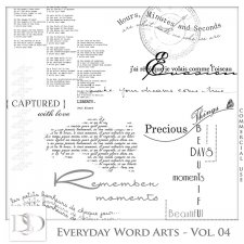 Everyday Word Arts Vol 04 by D's Design