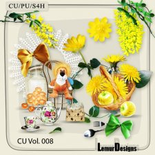 CU Vol 008 Flowers Mix by Lemur Designs