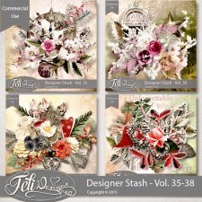 Designer Stash Vol 35-38 - CU by Feli Designs