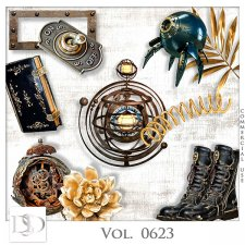 Vol. 0623 Steampunk Mix by D's Design