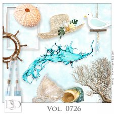 Vol. 0726 Summer Sea Mix by D's Design