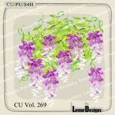 CU Vol 269 Flowers Pack 4 by Lemur Designs