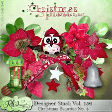 Designer Stash Vol 156 - Christmas Beauties No. 4 by Feli Designs
