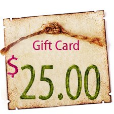 Gift Certificate - $25.00 in Digitals