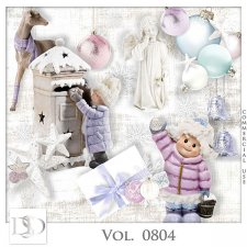 Vol. 0804 Winter Christmas Mix by D's Design