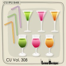 CU Vol 308 Summer Elements Pack 4 by Lemur Designs
