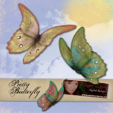 Pretty Butterfly - ACTION by Monica Larsen