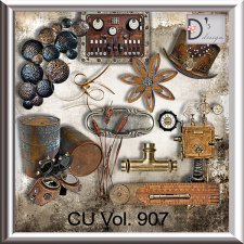 Vol. 907 Steampunk Mix by Doudou Design